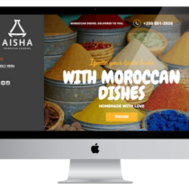 Aisha Catering Home Page