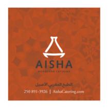 Aisha Catering Orange Lavel