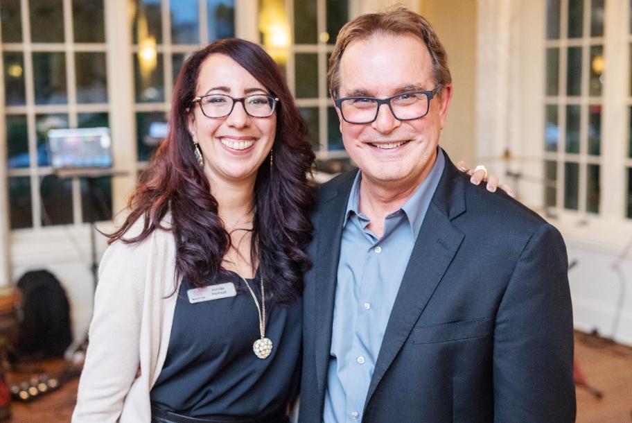 Asmaa Methqal & David Cooperrider, Co-creator of Appreciative Inquiry