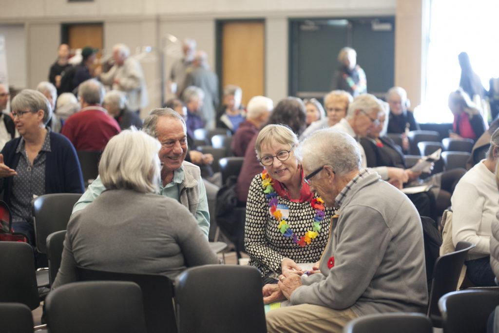 Group sharing during Appreciative Facilitation by Maestra at Sidney Summit 2018